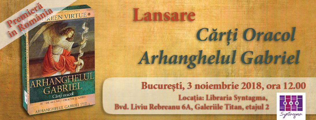 Lansare Carti Oracol Arhanghelul Gabriel